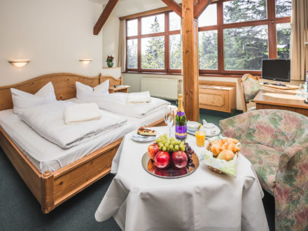 Doppelzimmer mit Frühstück